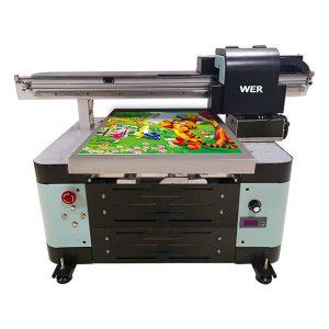 صنعت a2 dx5 head uv دیجیتال مسطح UV flatbed printer بزرگ قالب