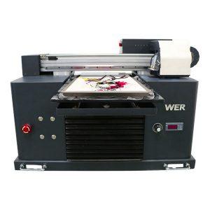 چاپگر DTG A3 با کیفیت بالا دیجیتال مسطح برای چاپ سیاه و سفید