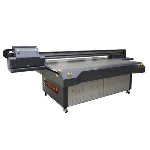 چاپگر با صفحه نمایش 4x8 فوت UV با صفحهنمایش کنیکا و ریکوف چاپ می شود