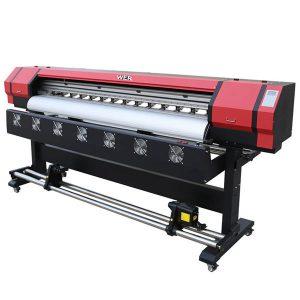 قیمت 6 فوت چاپگر حلال اکلوئید برای ورق های فلزی، وینیل، پی وی سی، مش