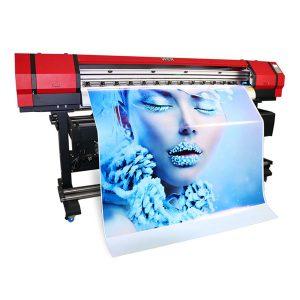 1.6 مگاوات چرمی فنجان بنر Flatbed fabric Eco-solvent ink