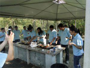 BBQ در Park Gucun، پاییز 2014