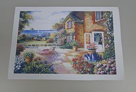 Canvas Oil چاپ شده توسط 2.5 متر (8 فوت) چاپگر اکولوژیکی حلال WER-ES2501 2