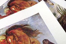 Canvas Oil چاپ شده توسط 2.5 متر (8 فوت) چاپگر Eco solvent WER-ES2501
