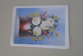 Canvas Oil چاپ شده توسط 2.5 متر (8 فوت) چاپگر اکولوژیکی حلال WER-ES2502