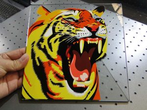 راه حل چاپ شیشه